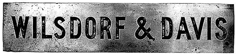 Wilsdorf & Davis cégér