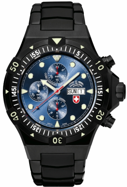 Swiss Military Conger Nero Auto 2557